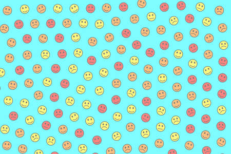 Internet backdrop. Holiday template. Mob comprising many moods.