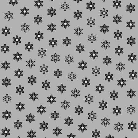 Flat mosaic comprising random osteospermum. Love theme. Фото со стока