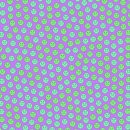 Internet theme. Abstract pattern. Association with smart feelings.