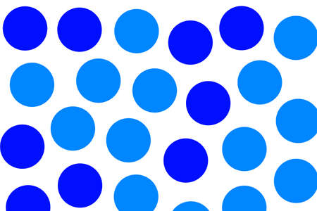 Sphere backgrounds with flat pattern for modern illustration