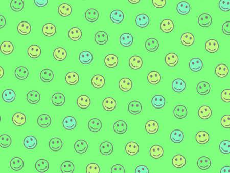 System illustration. Flat backdrounds. Intercommunion based on multiple moods. Stock Photo