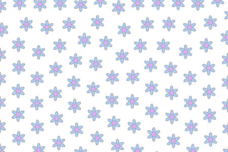 Spring sward and blossoming aster. Tenderness design. Stock Photo