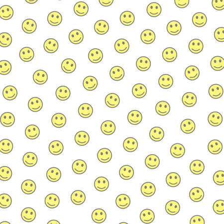 Network theme. High definition pattern. Association based on random smileys.