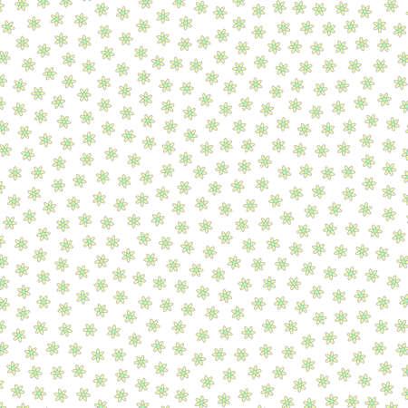 Abstract grassland comprising random tripleurospermum. Affection design. Stock Photo