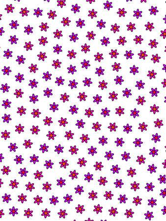 Abstract sward comprising blooming gerbera. Modern  backdrop. Фото со стока