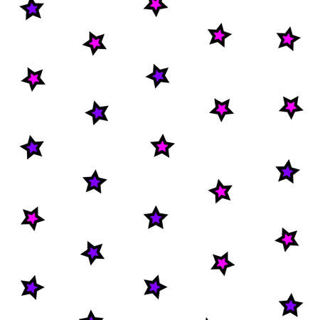 Star background with multiple shapes for xmas backdrop Stock Photo