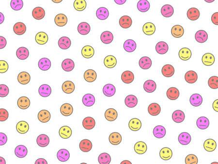 Web illustration. Irregular pattern. Throng based on smart spirits.