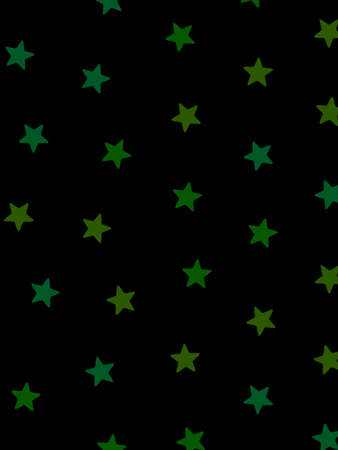 Star pattern with many shapes for modern design