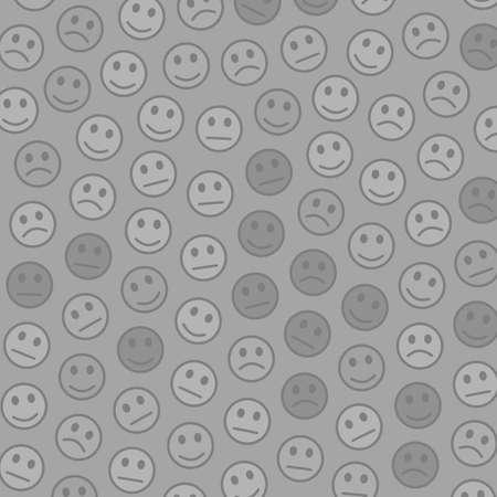 Messenger design. Holiday backdrounds. World including amusing faces.