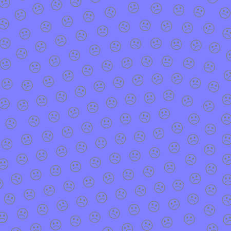 Web illustration. Flat backdrounds. Mob based on funny moods.