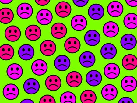 Net illustration. Abstract pattern. Association based on smart moods.
