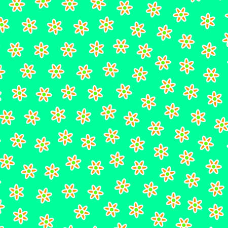 Beautiful backdrounds with blossoming chrysanthemum. Feeling illustration.