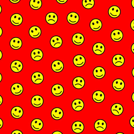 Society concept. Abstract background. Gang comprising many smileys. 写真素材