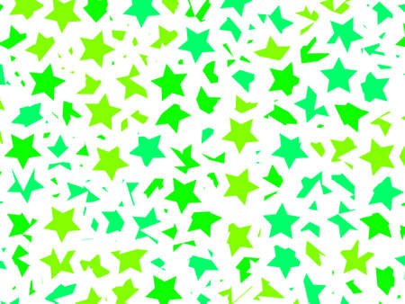 Chaotic background based on random particles for xmas illustration Stock Photo
