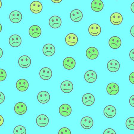 Internet design. Irregular background. Group based on funny moods. Banque d'images - 117581502