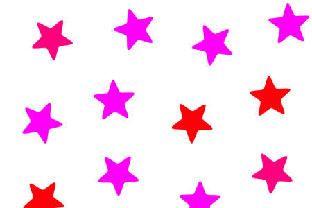 Star background with many shapes for modern decoration