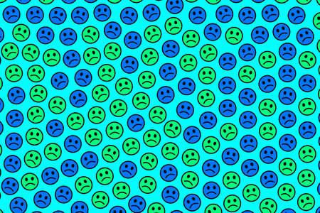 Interplay decoration. Geometric pattern. Gang including smart moods.