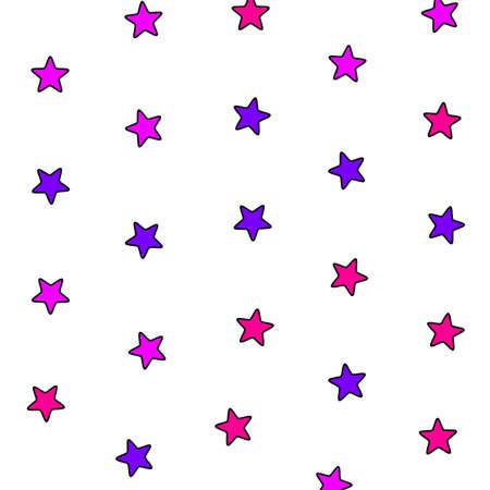 Irregular pattern based on multiple elements for new year illustration
