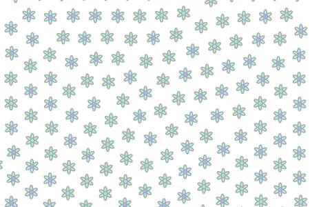 High definition mosaic containing multiple gerbera. Feeling illustration. Stock Photo