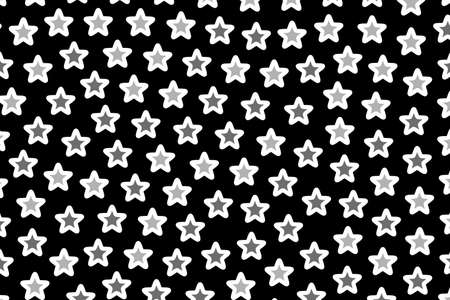 Star pattern containing random elements . high definition backdrop Stock Photo