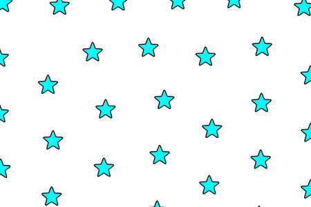 Star pattern with multiple shapes for your modern illustration Archivio Fotografico