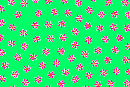Saint Valentines grassplot including blossoming leucanthemum. Sympathy theme.