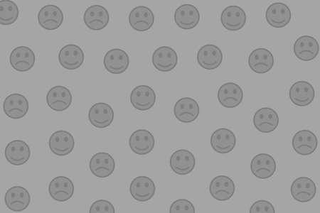 Interaction design. Flat pattern. Community based on smart spirits.