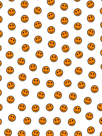 Teamwork backdrop. Simple pattern. Gang based on comic emotions.