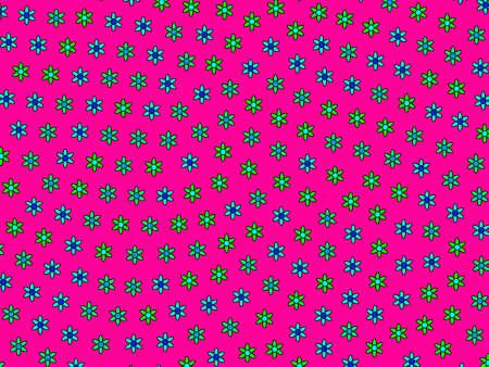 Romantic mosaic based on blossoming chrysanthemum. Subtlety theme.