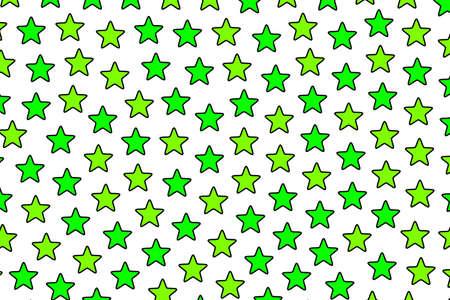 Star background containing random particles . xmas design Stock Photo