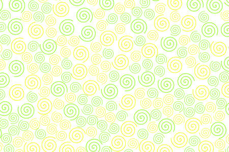 Curl texture containing random shapes for high definition illustration.
