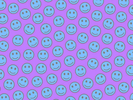 Party illustration. Simple pattern. Crowd containing multiple faces.