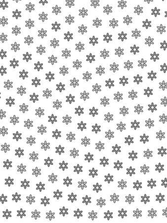 Abstract meadow containing random doronicum. Modern  concept.