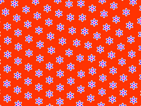 High definition texture comprising random tripleurospermum. Love illustration. Stock Photo