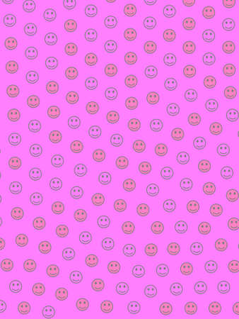 Chat design. Beautiful pattern. Group containing amusing shapes.