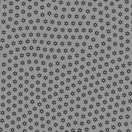 Irregular template containing random leucanthemum. Affection design.