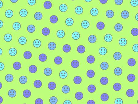 Internet backdrop. Irregular pattern. Gathering based on funny shapes. 写真素材
