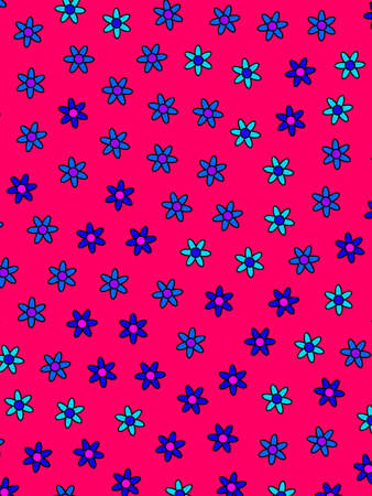 Spring backdrounds based on multiple flowers. Love concept. 版權商用圖片