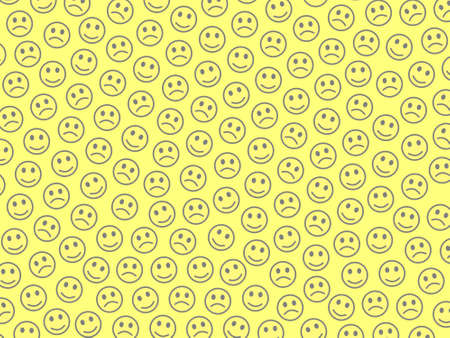 Internet concept. Creative texture. Crowd comprising many feelings. Фото со стока - 122241990