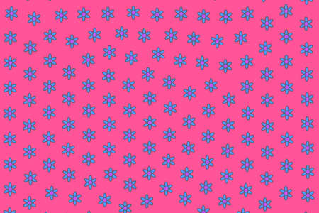 Saint Valentines texture containing blossoming aster. Dearness design.