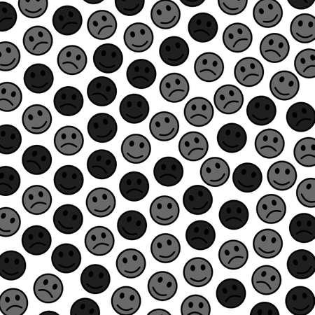 Telón de fondo de comunicación. Patrón irregular. Multitud que contiene muchos espíritus. Foto de archivo