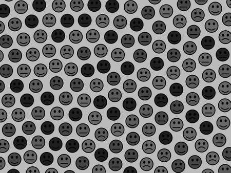 Teamwork backdrop. Chaotic texture. World based on smart emotions. Фото со стока - 122367981