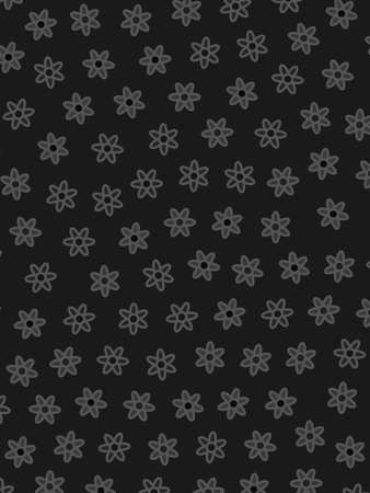 Romantic lea containing multiple chrysanthemum. Modern  design.
