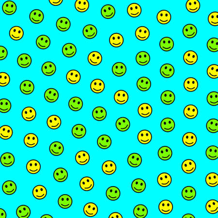 Interaction theme. Irregular texture. Company with amusing emotions. Фото со стока - 122750410