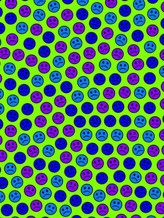 Web design. Creative texture. Intercommunion composed of random shapes. Imagens