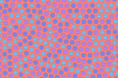 Web design. Creative texture. Throng including multiple faces. Фото со стока