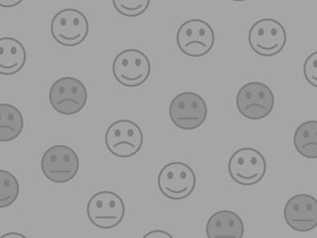 System backdrop. Party template. Institute including comic smileys.