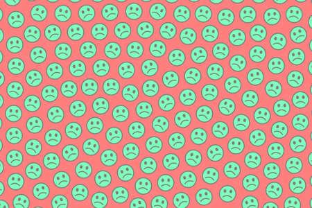 Net illustration. Abstract backdrounds. Community based on smart emotions. Imagens