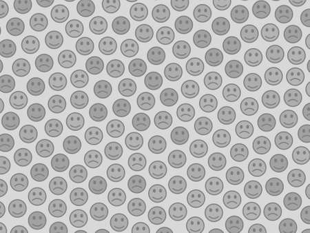 Cooperation backdrop. Abstract backdrounds. Company based on comic smileys.
