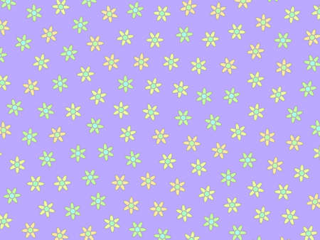 Abstract mosaic and random asteraceae. Love concept. 写真素材